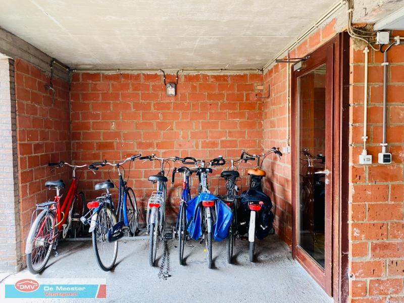 Gemeenschappelijke fietsenberging