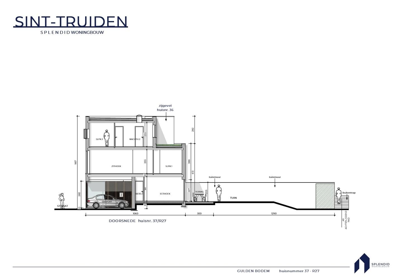 Nr. 37 Riante stadswoning in een groene oase in Sint-Truiden