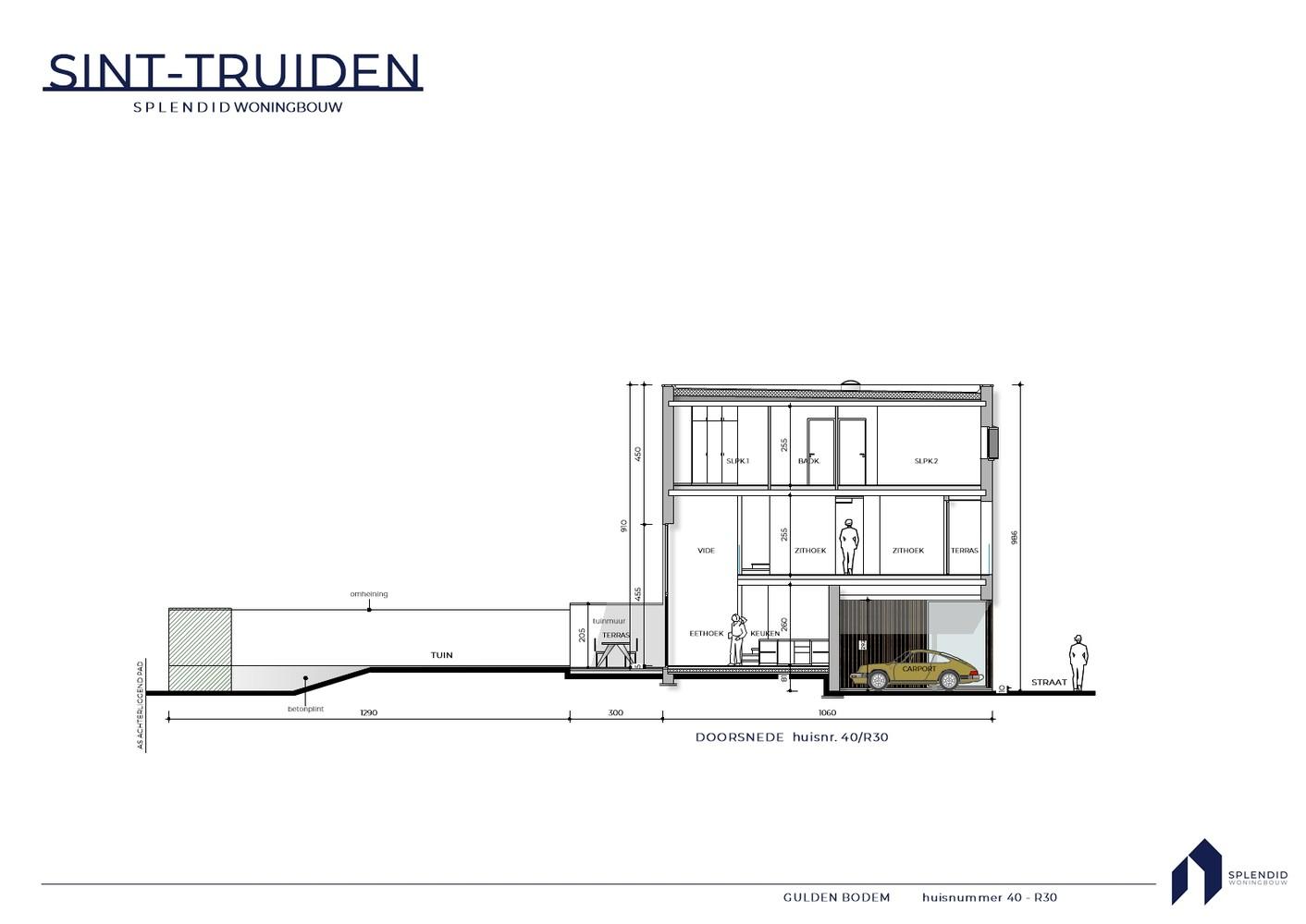 Nr. 40 Riante stadswoning in een groene oase in Sint-Truiden
