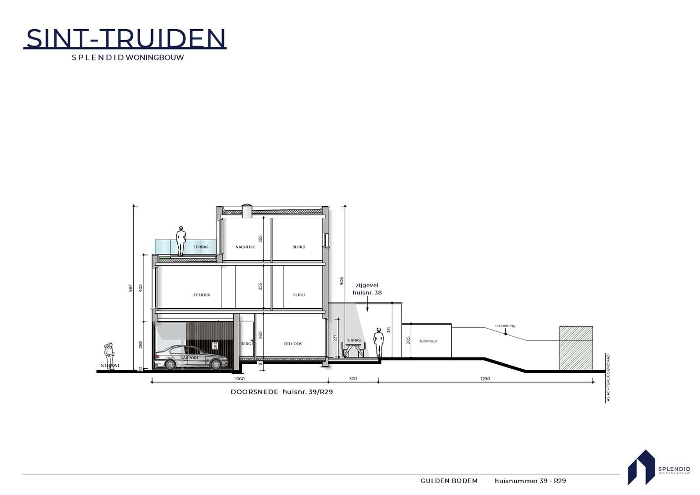 Nr. 39 Riante stadswoning in een groene oase in Sint-Truiden