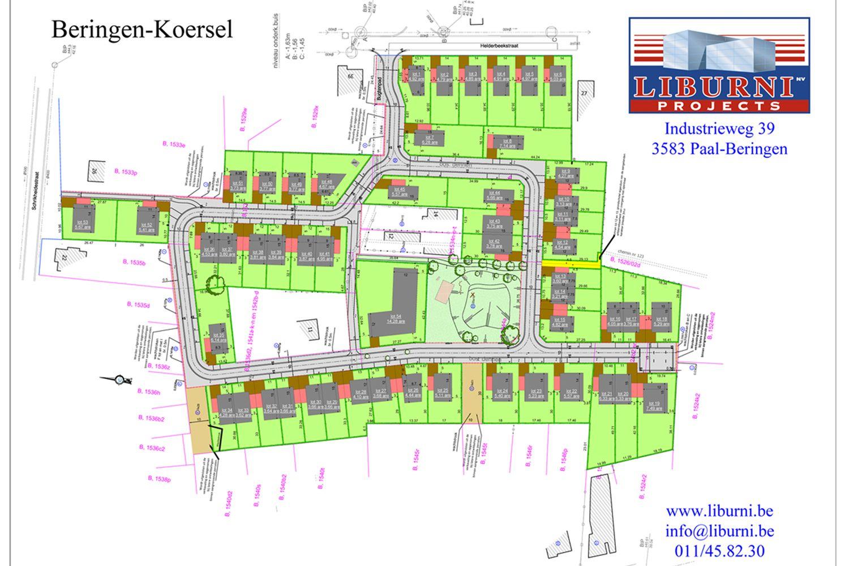Helderbeek in Koersel - bouwgrond