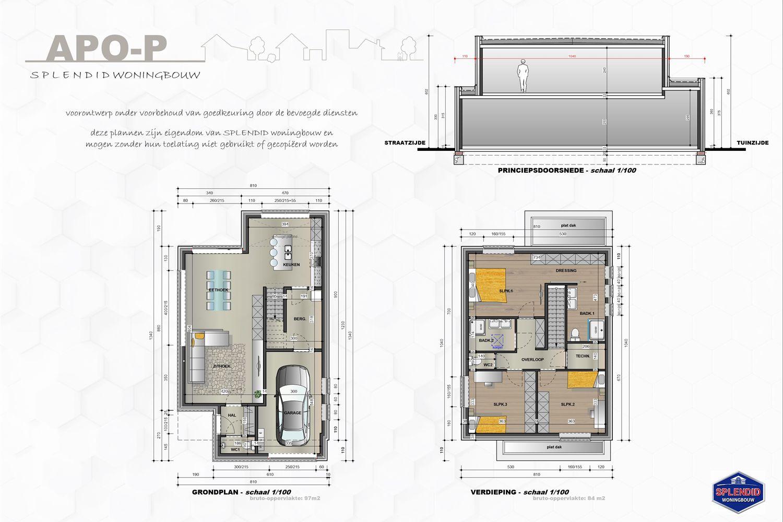Lot 15 Moderne BEN nieuwbouwwoning incl zonnepanelen te Haacht