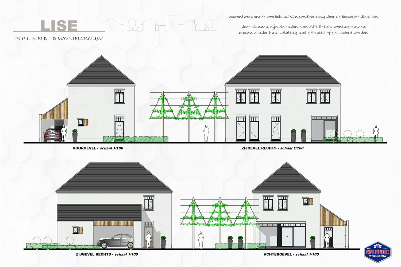Lot 06 'Statig, elegant & stijlvol' omschrijven deze nieuwbouwwoning in Mol