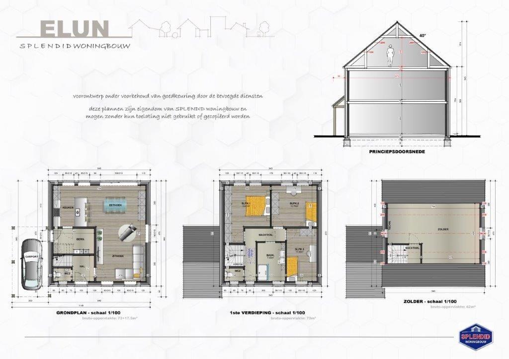 Lot 33 Ruime open bebouwing in pastoriestijl in Mol