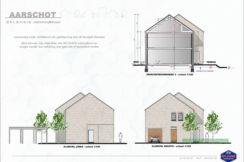 Lot 34 Halfopen bebouwing in manoir-stijl in Aarschot