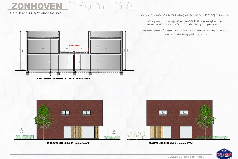 Lot 08 Strakke semi-open woning met drie slaapkamers en dressing in Zonhoven