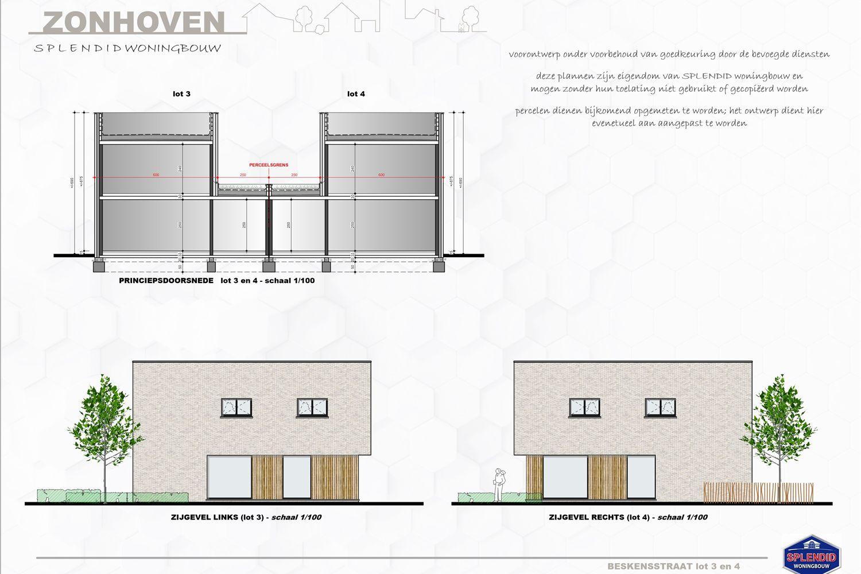 Lot 04 Semi-open woning met zonnepanelen in Zonhoven