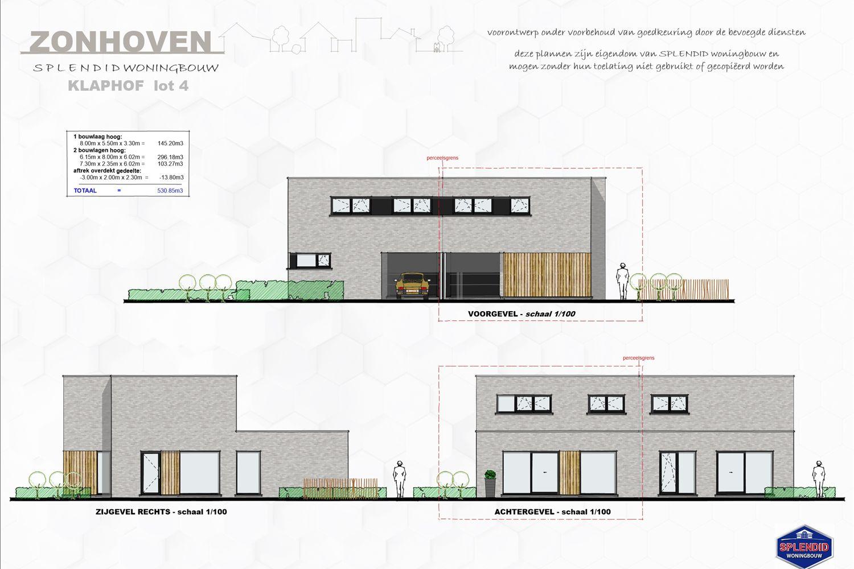 Lot 04 Populaire, moderne halfopen woning met lichte gevelsteen in Zonhoven