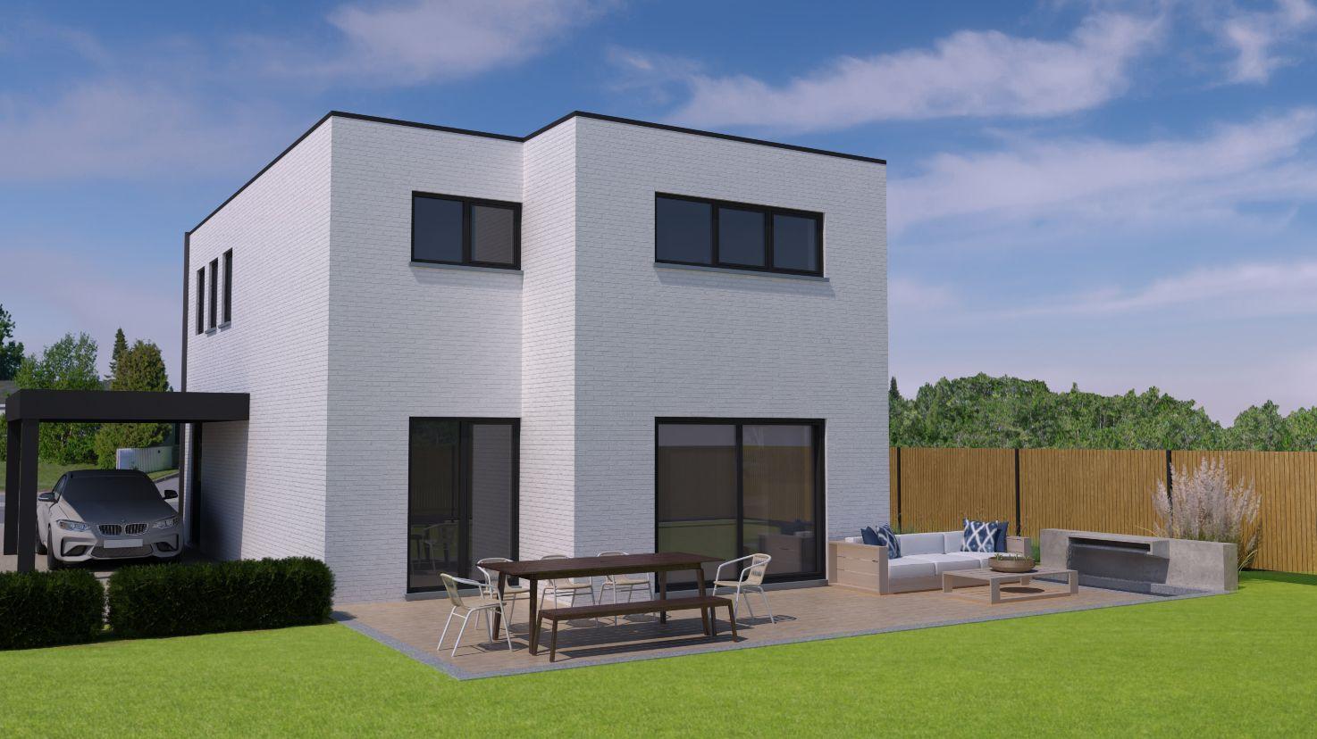 Lot 05 Massieve, strakke woning met zonnepanelen op een ruim perceel in Zonhoven